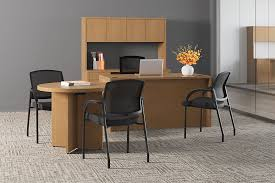 hon guest chairs. 10500 Series Desk With Lota Chairs Hon Guest