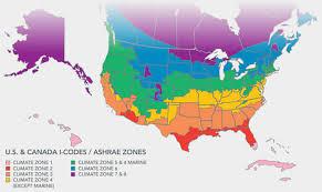 World Climate Zone Chart Climate Zone Map Including Canada Greenbuildingadvisor