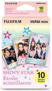 <b>Fujifilm Shiny Star</b> Instax Designer <b>Film</b> for Mini Camera (Multi-<b>Color</b>