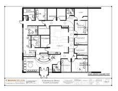 Doctor Office Design Chiropractic Office Floor Plan Multi Doctor Physical Medicine And Active Therapy 4263 Design