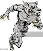 Vlkodlak Vlk Sportovní Maskot Běží Vektory Z Knihovny Clipartme