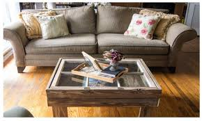 window frame coffee table diy sash