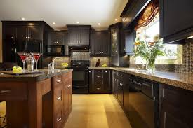 86 Beautiful Amazing Black And Brown Kitchen Cabinets Dark Light