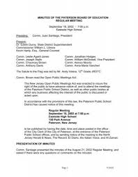 MINUTES OF THE PATERSON BOARD OF EDUCATION REGULAR ...