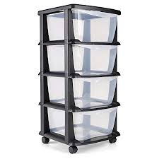 plastic storage drawers. Maxi Nature Kitchenware Plastic Storage Drawers On Wheels Cabinet Containers Large Unit 4 -