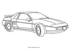 Small Picture coloring sheet with car Pippis Coloring Pages
