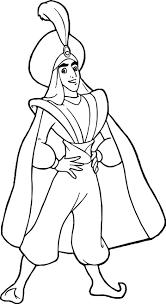 Small Picture Prince Ali Aladdin Coloring Page Wecoloringpage