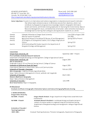 Sample Resume Gis Analyst Augustais