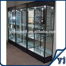 Free Standing Display Cabinets Rectangle Glass Display Showcase Photo Detailed About Rectangle 27