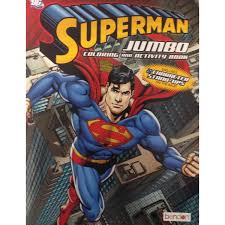 300 x 300 jpeg 29 кб. Superman Coloring Book Superman Jumbo Coloring And Activity Book 1 Book Drawing Painting Supplies Drawing Sketch Pads