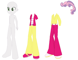 4.6 out of 5 stars 298. Equestria Boys Sweepy Bell Base Vr 2 By Selenaede On Deviantart
