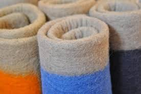 felted wool rugs by way of the himalayas