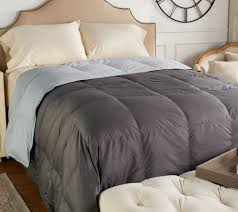 Northern Nights 400TC 600FP Reversible King Down Comforter - Page 1   QVC.com