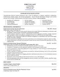 Military To Civilian Resume 100 Sample Military To Civilian Resumes Hirepurpose Military Resume 2