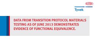 June 2013 Webcast Charts Dupont Tyvek Transition