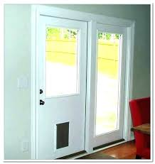 glass door insert dog door sliding gla dog