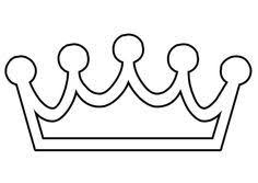 Small Picture christian symbol black line art for kids Kings Crown is the