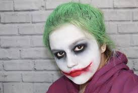 how i did the joker make up
