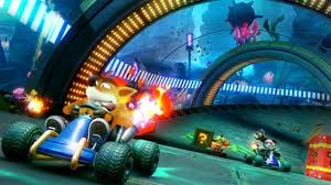 can you play crash team nitro fueled in