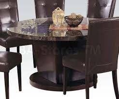 faux stone top dining table. 54 round marble top dining table in black tables af 07003 8 faux stone
