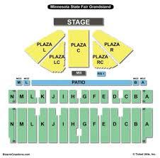 Iowa State Fair Grandstand Seating Chart Iowa State Fair Grandstand Map Mid State Fair Grandstand