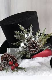 jaunty and unexpected our charming top hats offer a refreshing new element to your holiday displays happy holiday christmas