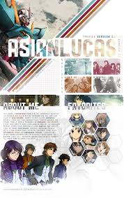 mal profile layouts gundam 00 webdesign by asianlucas on deviantart