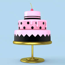 Gif Cute Party Design 3d Cartoon Pink Motion Happy Birthday