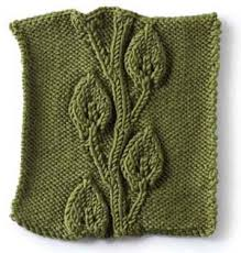 Leaf Knitting Pattern Gorgeous Embossed Vine And Leaves