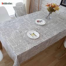 Detail Feedback Questions about Tablecloth <b>Nordic geometric grid</b> ...