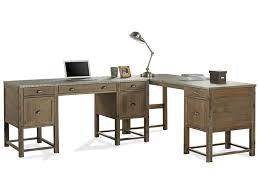 L shape furniture Living Room Riverside Furniture Liamlshaped Desk Hudsons Furniture Riverside Furniture Liam Industrial Lshaped Desk With Drop Front