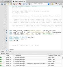 mysql sample database installing sample database 2