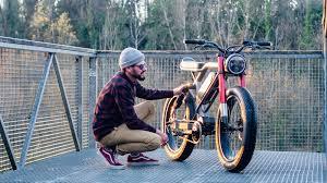 le cafe racer as an e bike aevon bikes