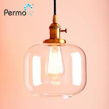 Us 3936 Permotriassischen Vintage Anhänger Decke Lampen Moderne Glas Glas Anhänger Lichter Küche Esszimmer Hanglamp Retro Leuchte Loft Lichter