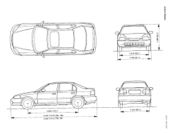 Image request - 96-00 Civic hatchback dimensions (length, width ...