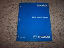 mazda manual 2006 mazda5 mazda 5 factory original electrical wiring diagram manual book