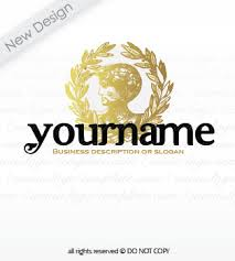 Greek Templates Premium Greek Coin Logo 9300 Logo Templates Create A Logo With
