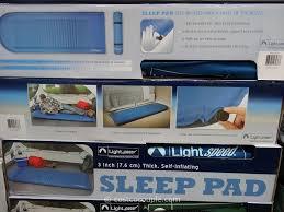 Costco Light Speed Lightspeed Self Inflating Foam Sleeping Pad