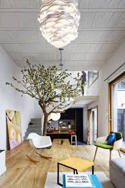 Living Room With Dining Table The Floor Of This Living Room Becomes The Dining Table Contemporist