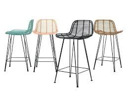 rattan bar stools black rattan outdoor bar stools
