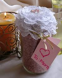 Decorative Jars For Bath Salts Spa inspired gifts homemade bath salts with decorative jar 38