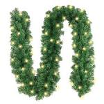 Image result for lighted garland outdoor