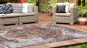 new york designed to create a colorful indoor aesthetic outdoors the resilience line by harounian rugs international is expanding this season with a