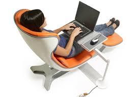 modern ergonomic chair computer desk