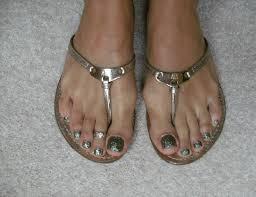 Glitter toes - Nail Art Archive - Style - NAILS Magazine