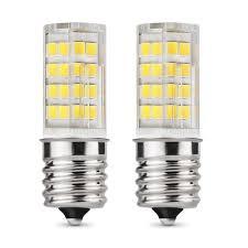 E17 Led Bulb Microwave Oven Light T7 T8 Intermediate Base Led Appliance Bulb T8 T7 Lightbulb Warm White 3000k Dimmable 4w 40w Halogen Bulb