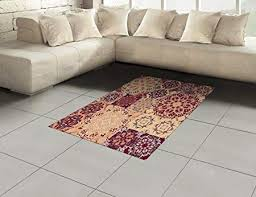 hexagon shaped area rugs lovely ambesonne moroccan area rug colorful vintage