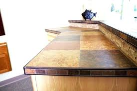 faux wood countertops wood tile kitchen brown shade tile fish sculpture light wooden cabinets from tile faux wood countertops