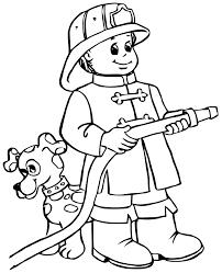 S Lection De Dessins De Coloriage Pompier Imprimer Sur Laguerche