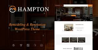 Hampton Home Design And House Renovation WordPress Theme By Stunning Home Interior Design Websites Remodelling